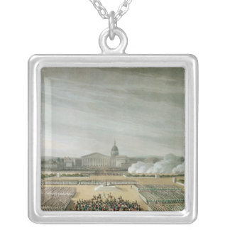 Ceremony of the Te Deum Silver Plated Necklace