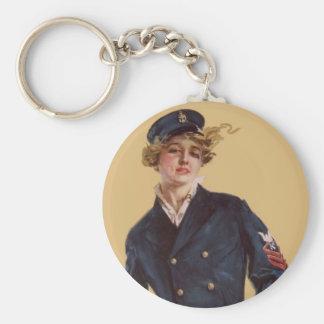 Cerero Christy de Howard de la marinera del vintag Llavero Redondo Tipo Pin