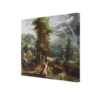 Ceres and Cyane Canvas Print