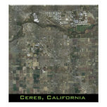 Ceres and the Surrounding Area Poster