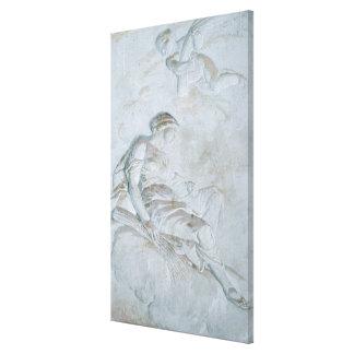 Ceres, c.1790 (el fresco) lienzo envuelto para galerias