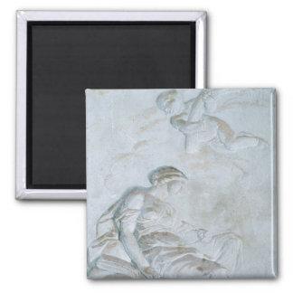 Ceres, c.1790 (fresco) 2 inch square magnet