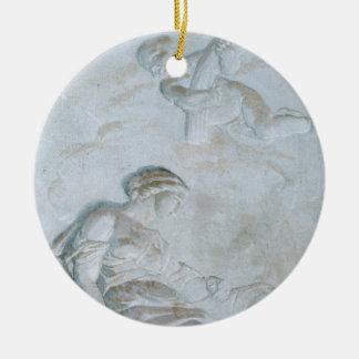 Ceres, c.1790 (fresco) ceramic ornament