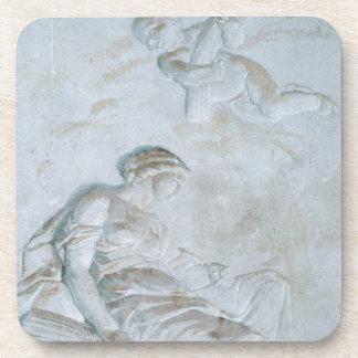 Ceres, c.1790 (fresco) coaster