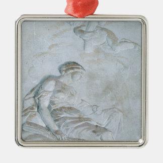 Ceres, c.1790 (fresco) metal ornament