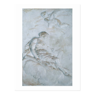 Ceres, c.1790 (fresco) postcard