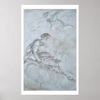 Ceres, c.1790 (fresco) poster