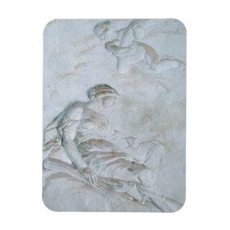 Ceres, c.1790 (fresco) rectangular photo magnet