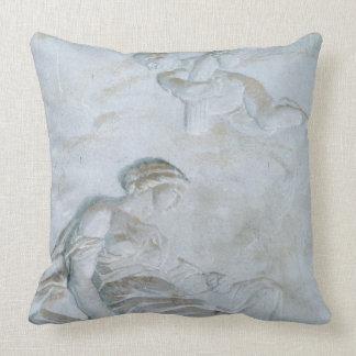 Ceres, c.1790 (fresco) throw pillow