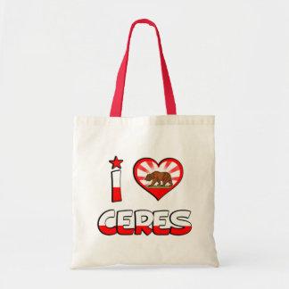 Ceres, CA Tote Bag