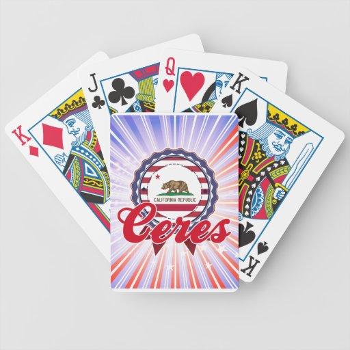 Ceres, CA Baraja De Cartas