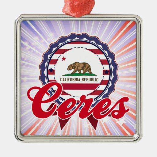 Ceres, CA Ornamentos De Navidad