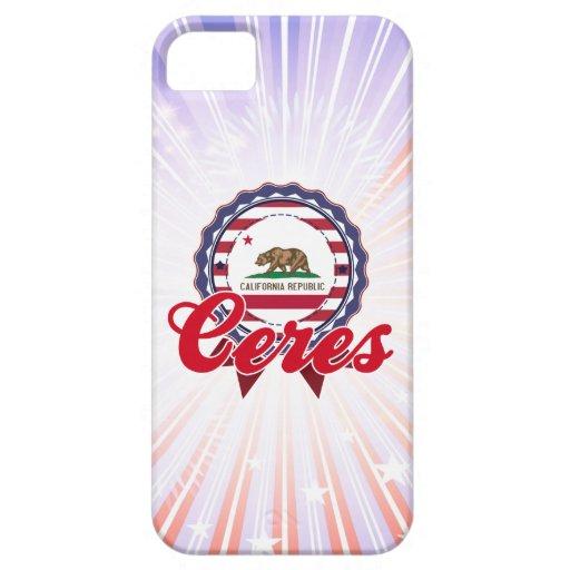 Ceres, CA iPhone 5 Fundas