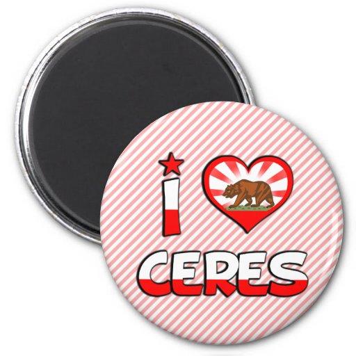 Ceres, CA Imanes De Nevera