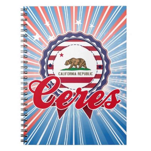 Ceres, CA Libro De Apuntes