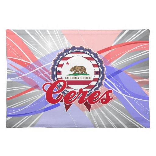 Ceres, CA Manteles