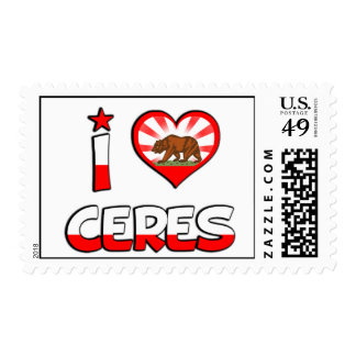 Ceres, CA Postage Stamp