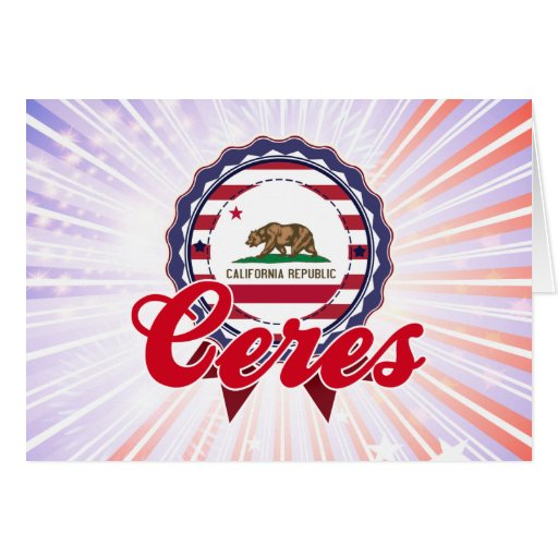 Ceres, CA Tarjetón