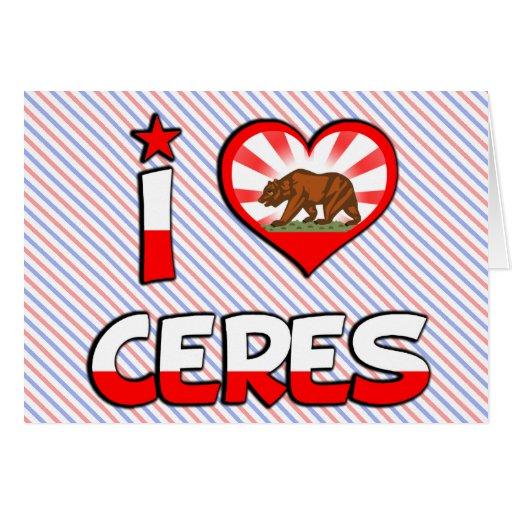 Ceres, CA Tarjeta