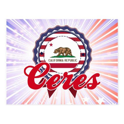 Ceres, CA Postales