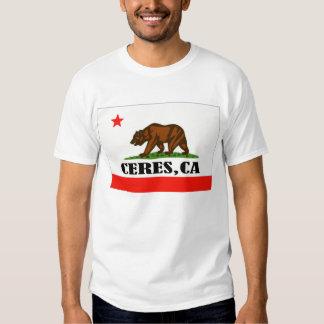 Ceres, California -- Camiseta Playeras
