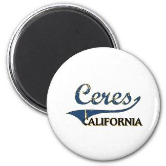 Ceres California City Classic Fridge Magnet
