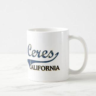Ceres California City Classic Coffee Mug