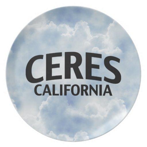 Ceres California Plate