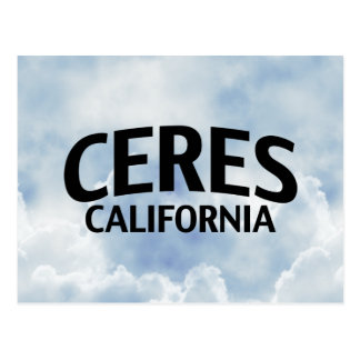 Ceres California Postcard