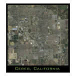 Ceres Close Up Poster