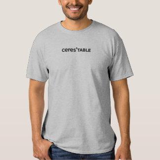 ceres las camisetas del restaurante de la tabla playera