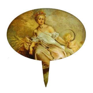 Ceres (Summer) by Antoine Watteau Cake Topper