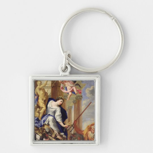 Ceres Vanquishing the Attributes of War Keychain