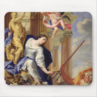 Ceres Vanquishing the Attributes of War Mouse Pad