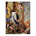 Ceres Vanquishing the Attributes of War Postcard