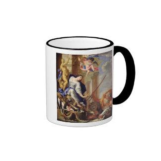Ceres Vanquishing the Attributes of War Ringer Mug