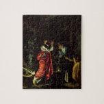 Ceres y Stellio (el aceite en el cobre) Puzzle