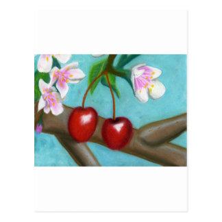 Cereza Blossum Postales
