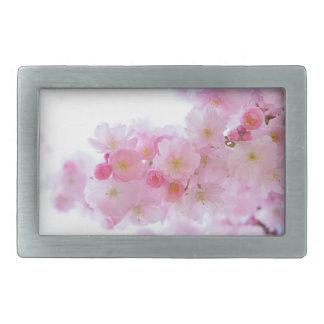 Cereza de Japón Sakura Hebillas De Cinturón Rectangulares