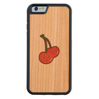 Cereza de Kawaii Funda De iPhone 6 Bumper Cerezo