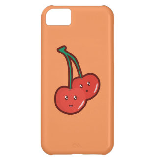 Cereza de Kawaii Funda Para iPhone 5C