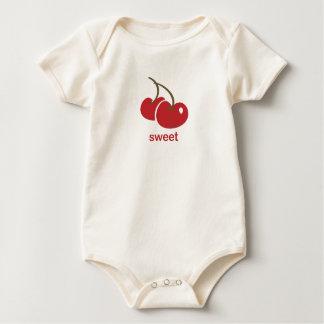 cereza dulce mameluco de bebé
