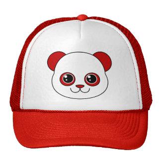 Cereza linda de la panda gorra