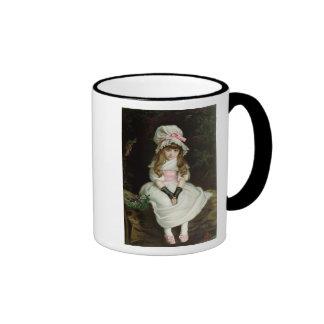 Cereza madura, d 1879 taza de café
