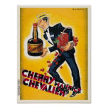 Cereza Maurice Chevalier Poster