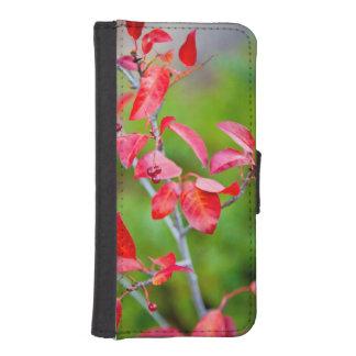 Cereza occidental de la obstrucción (Prunus Fundas Tipo Billetera Para iPhone 5