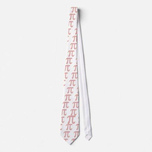cereza pi (empanada) corbata personalizada