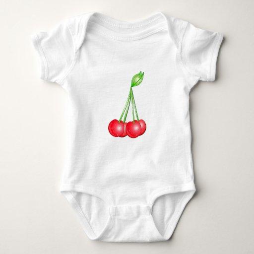 Cerezas Body Para Bebé