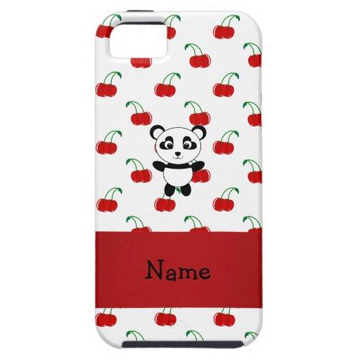 Cerezas conocidas personalizadas del rojo de la pa iPhone 5 Case-Mate protectores