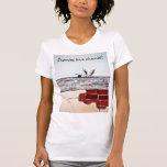 Cerezas del amor de los conejitos camiseta